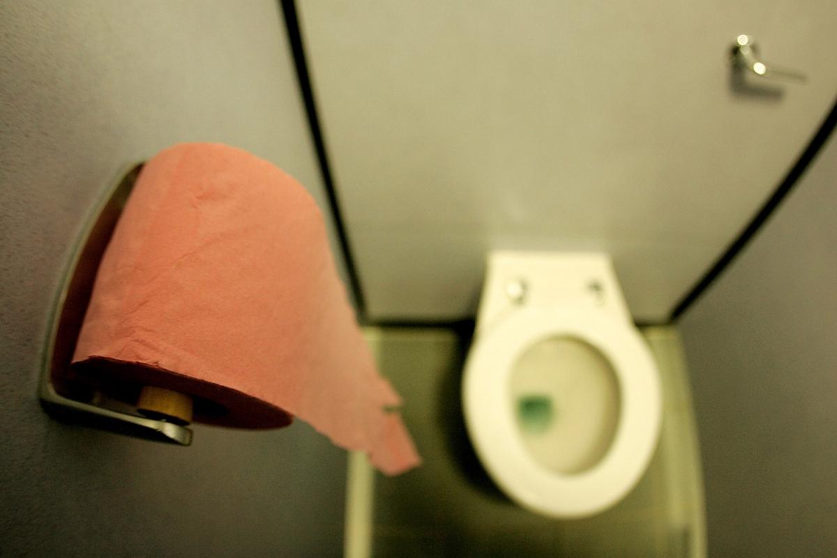 UK public toilet