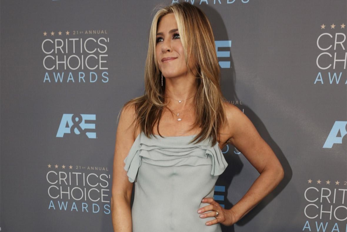 Jennifer Anniston, Critics Choice Award 2016