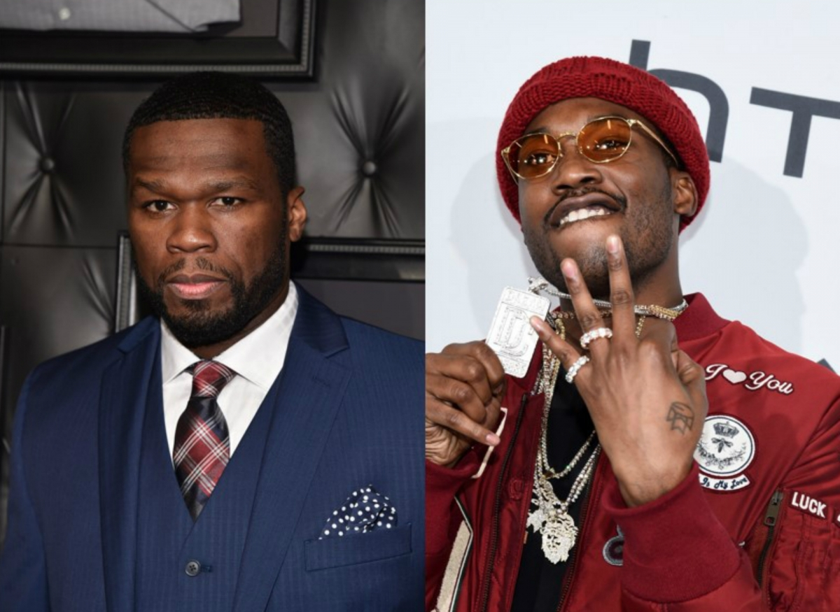 Meek Mill and 50 Cent