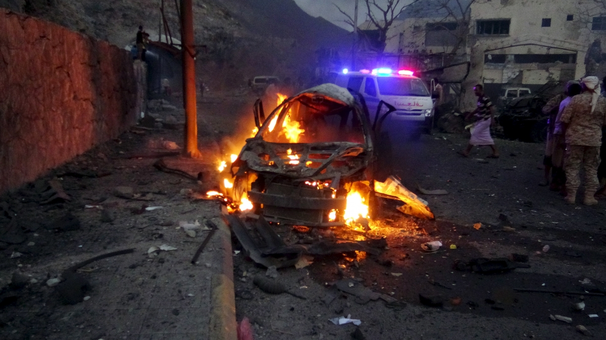 Car bomb in Aden