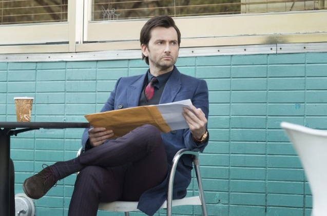 David Tennant as Kilgrave in Jessica Jones