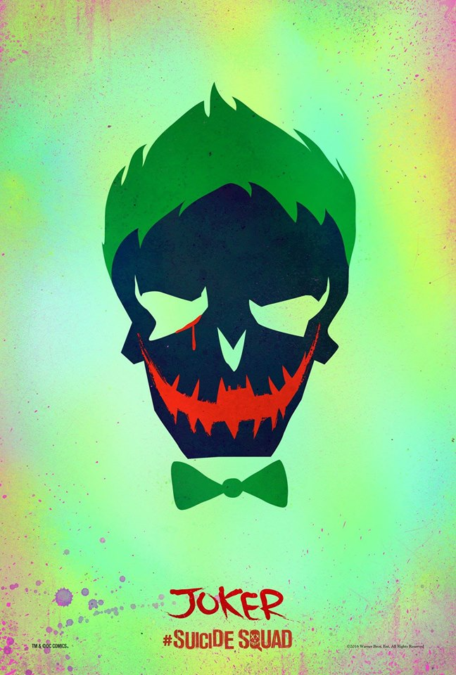 The Joker Suicide Squad poster