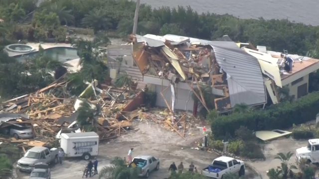 Florida home destruction