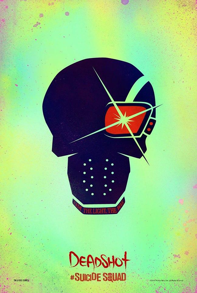 Deadshot Suicide Squad poster