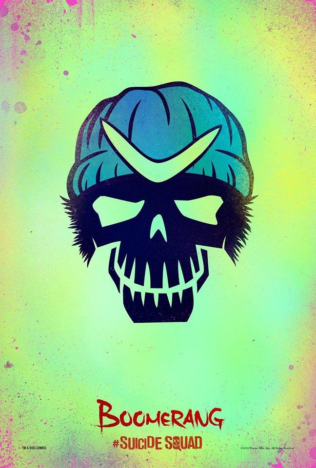 Captain Boomerang Suicide Squad poster