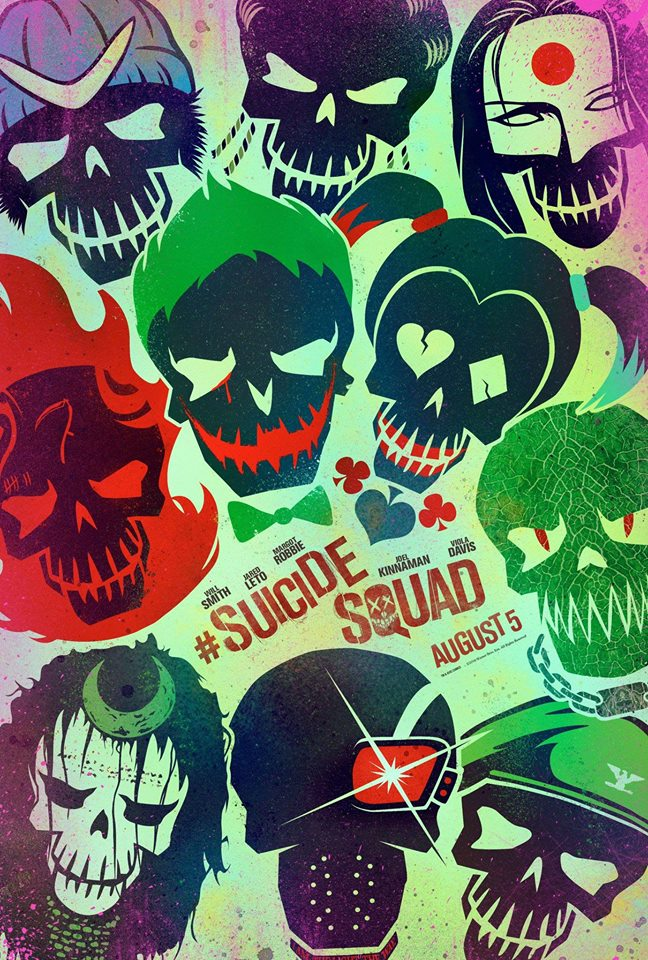 Suicide Squad first poster
