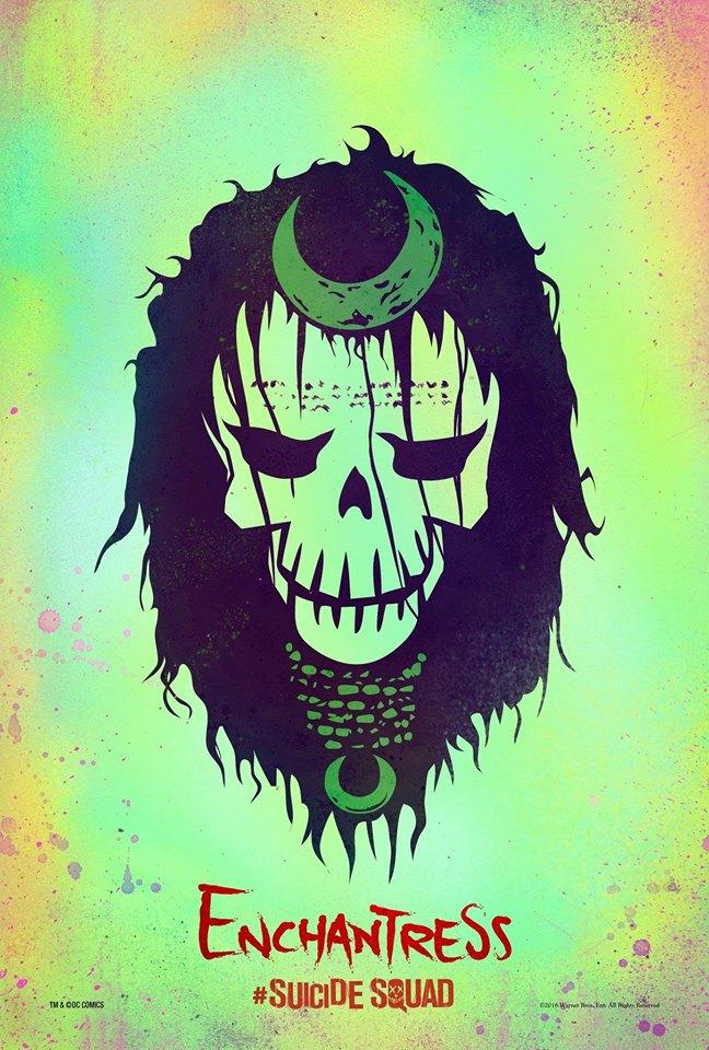 Enchantress Suicide Squad poster
