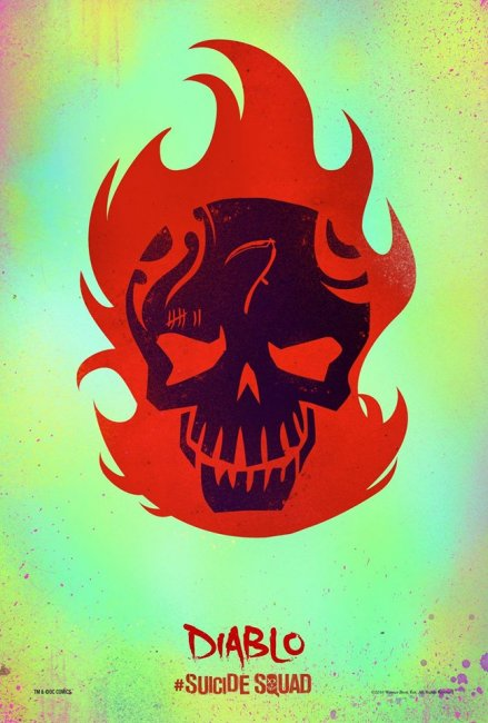 Diablo Suicide Squad movie poster