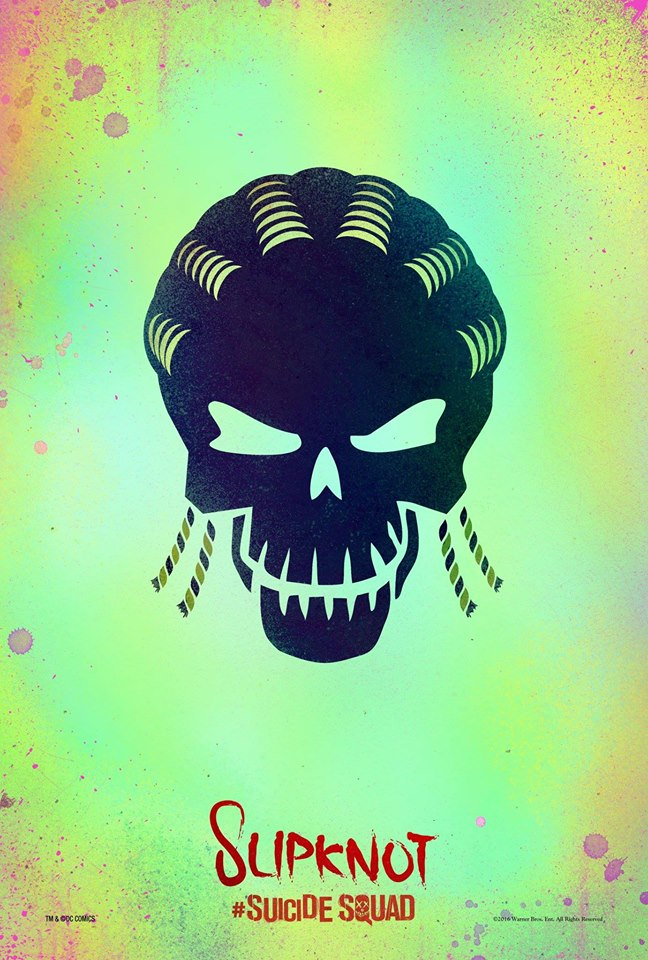 Slipknot in Suicide Squad movie poster