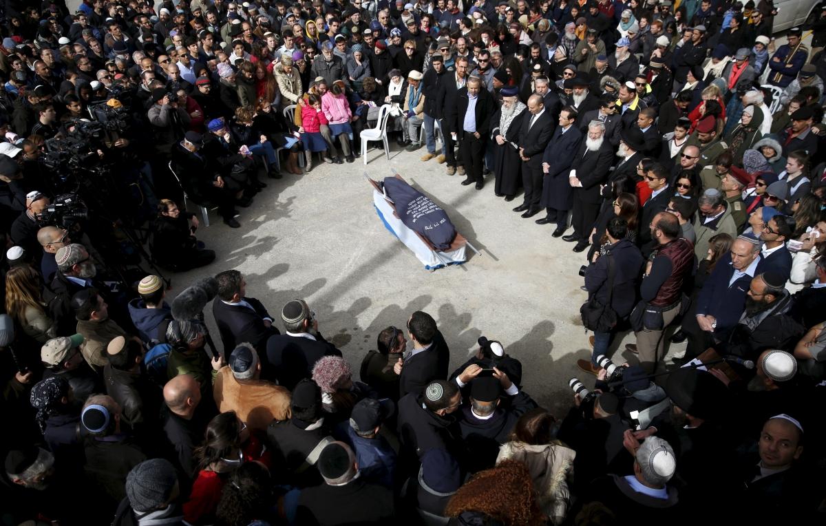 Dafna Meir Funeral