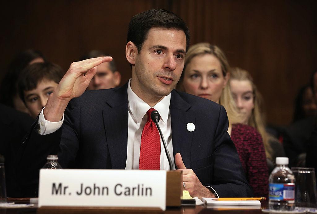 John Carlin China hacking