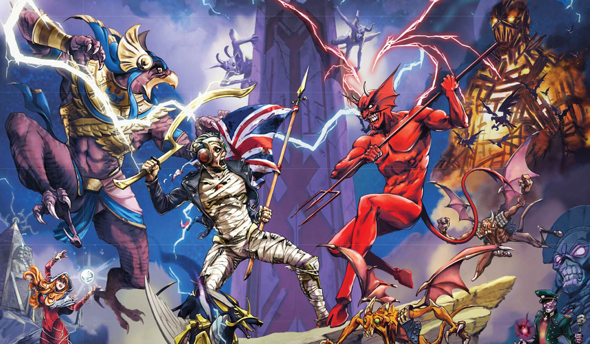 Iron Maiden mobile game Legacy Of The Beast is an RPG for