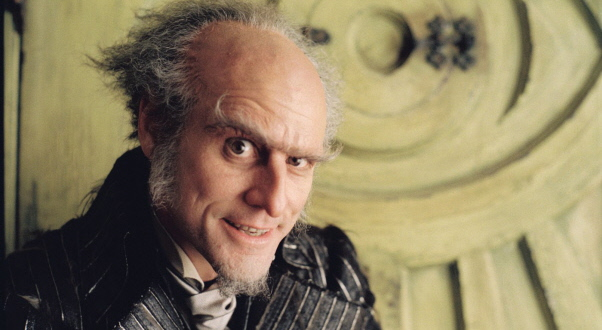 Jim Carrey as Count Olaf