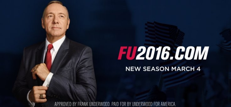 House Of Cards season 4 promo