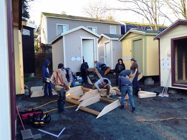 Us Tiny House Village For Homeless Opening In Seattle