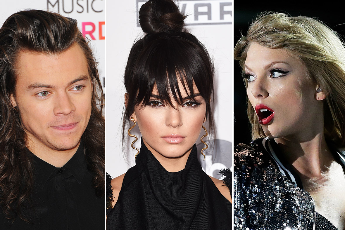 Harry Styles, Kendell Jenner, Taylor Swift