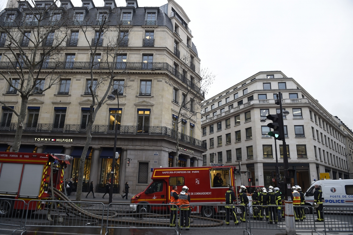 Ritz Hotel Paris Fire