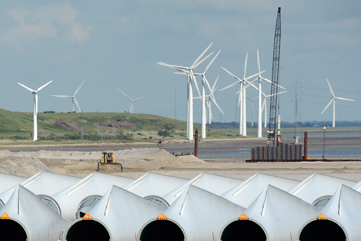 wind turbines, Denmark