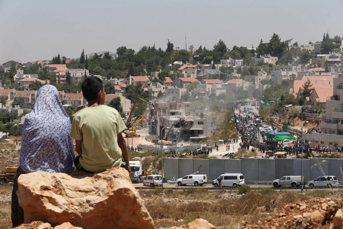 Illegal Israeli settlement