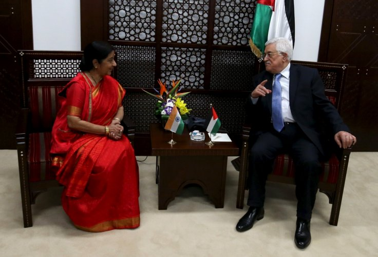 India Palestine talks