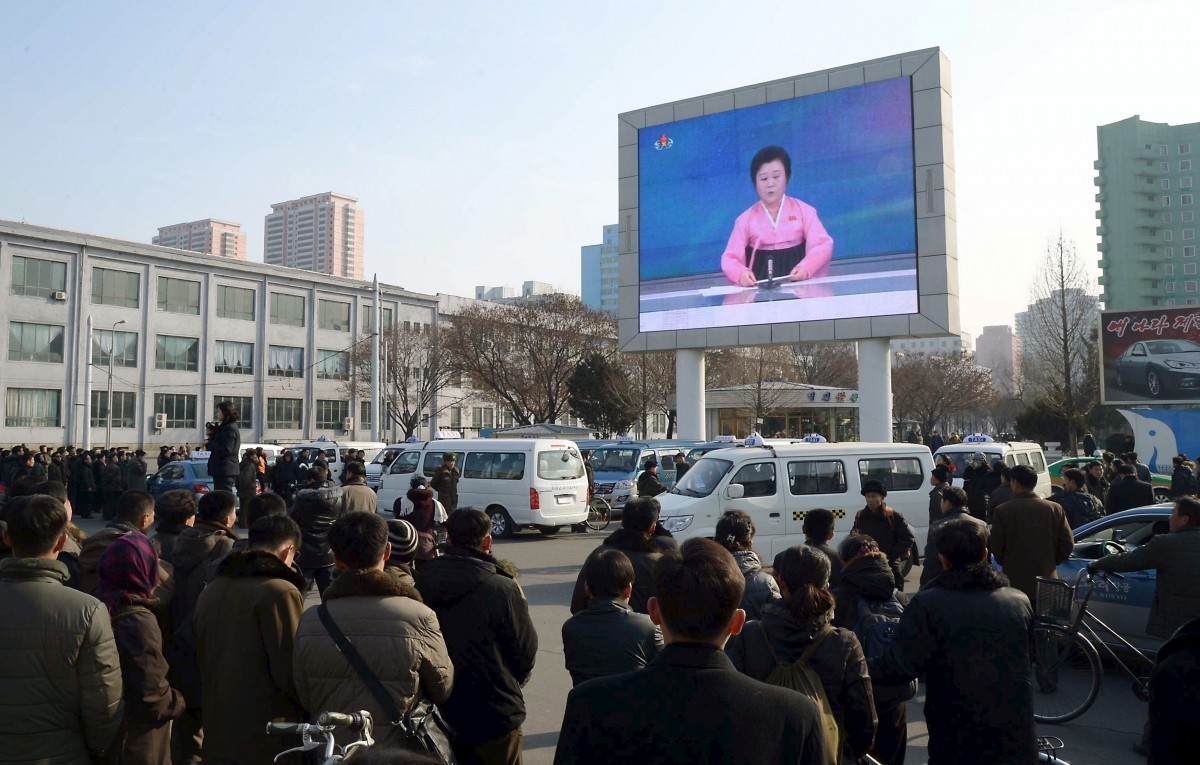 North Korea broadcast