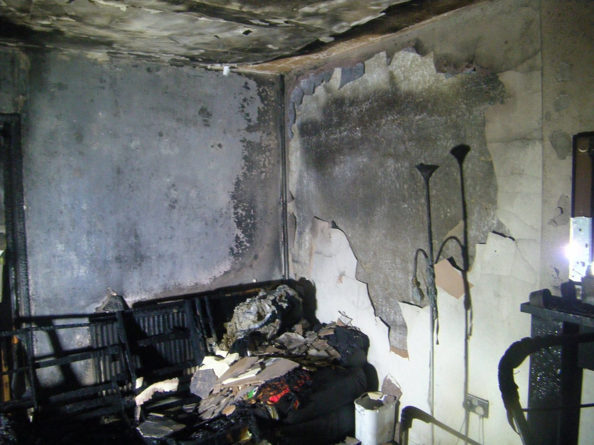 Hoverboard fire in West Yorkshire