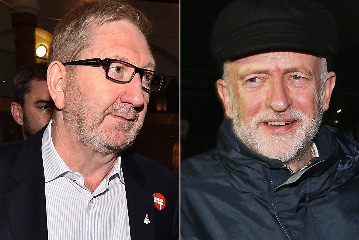 Len McCluskey, Jeremy Corbyn