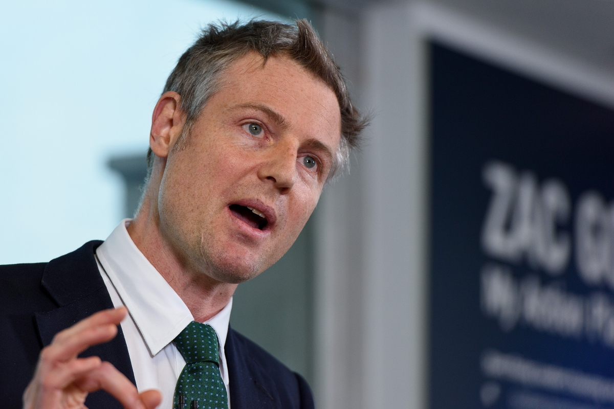Zac Goldsmith London mayor election