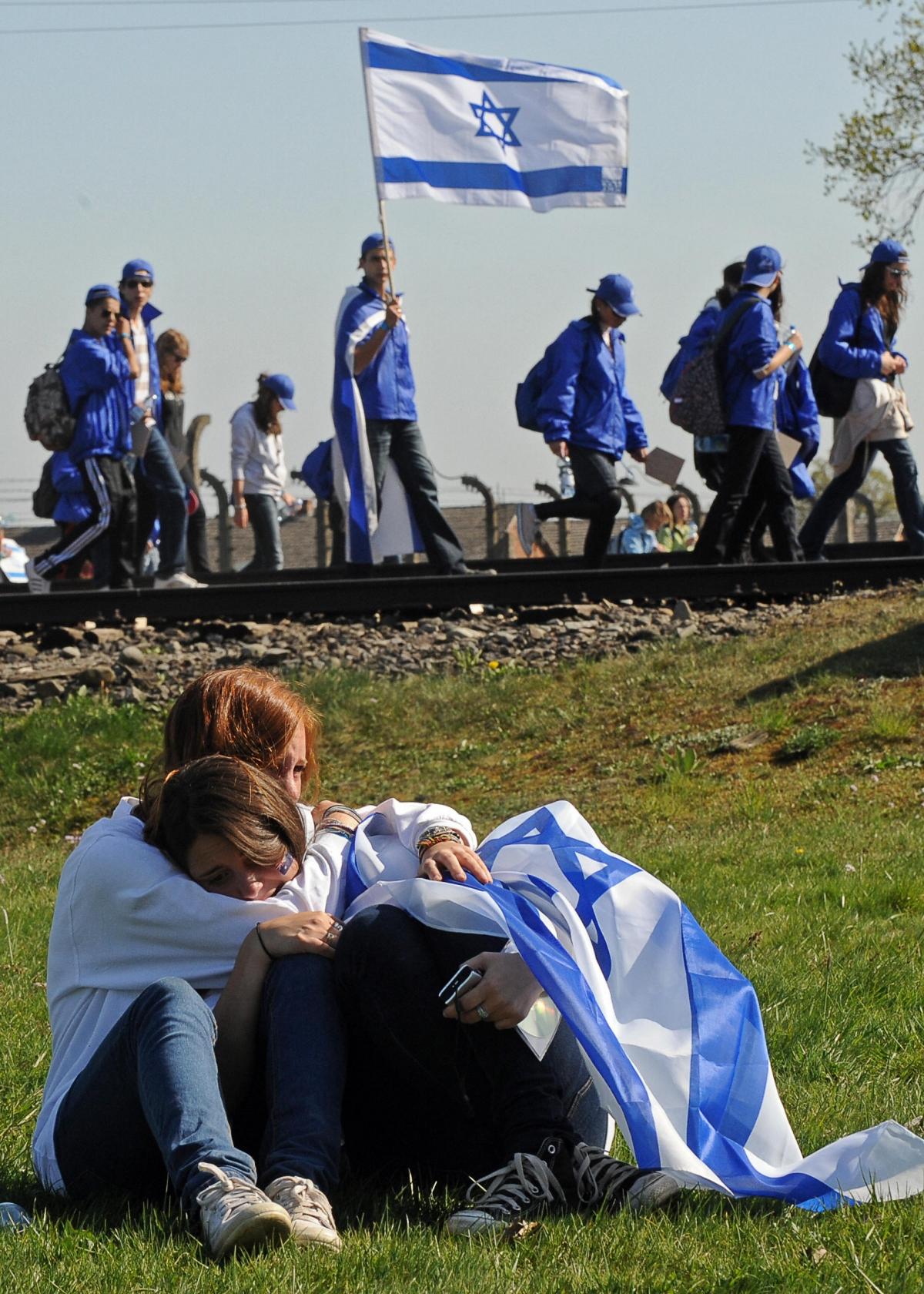 Israeli teenagers Auschwitz