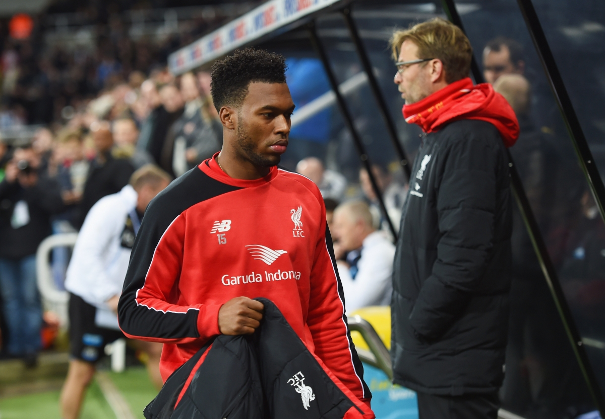 Liverpool boss Jurgen Klopp plays down Daniel Sturridge injury concerns