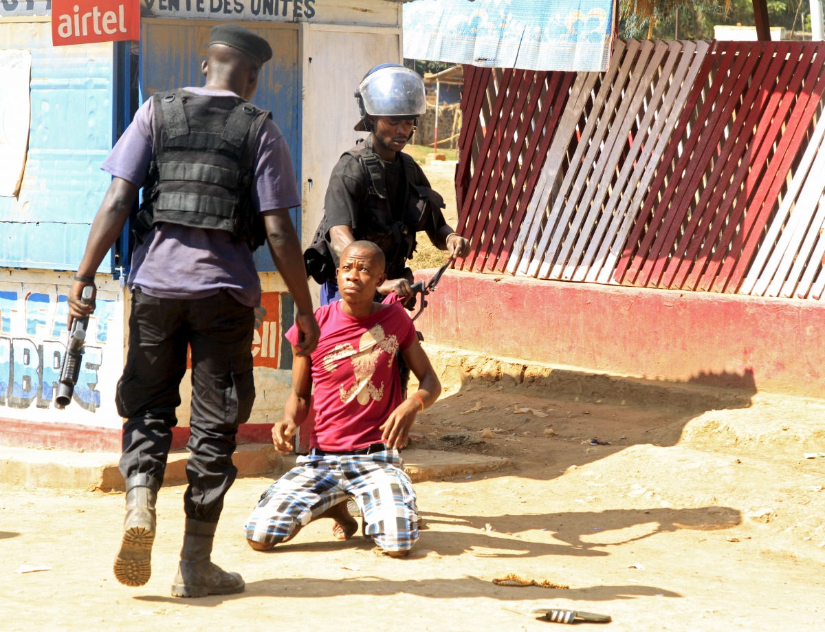 DRC police crackdown on protesters