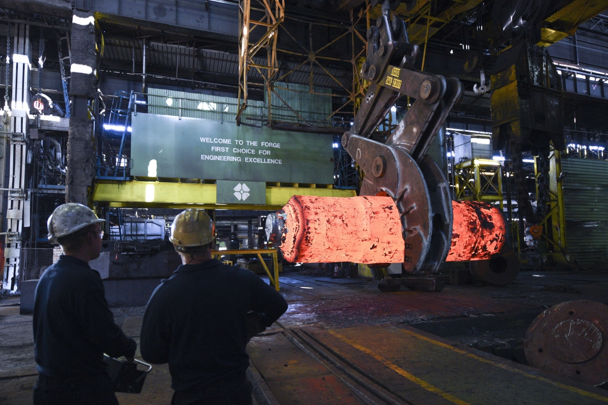 Uk Steel Crisis Trident Sub Maker Sheffield Forgemasters