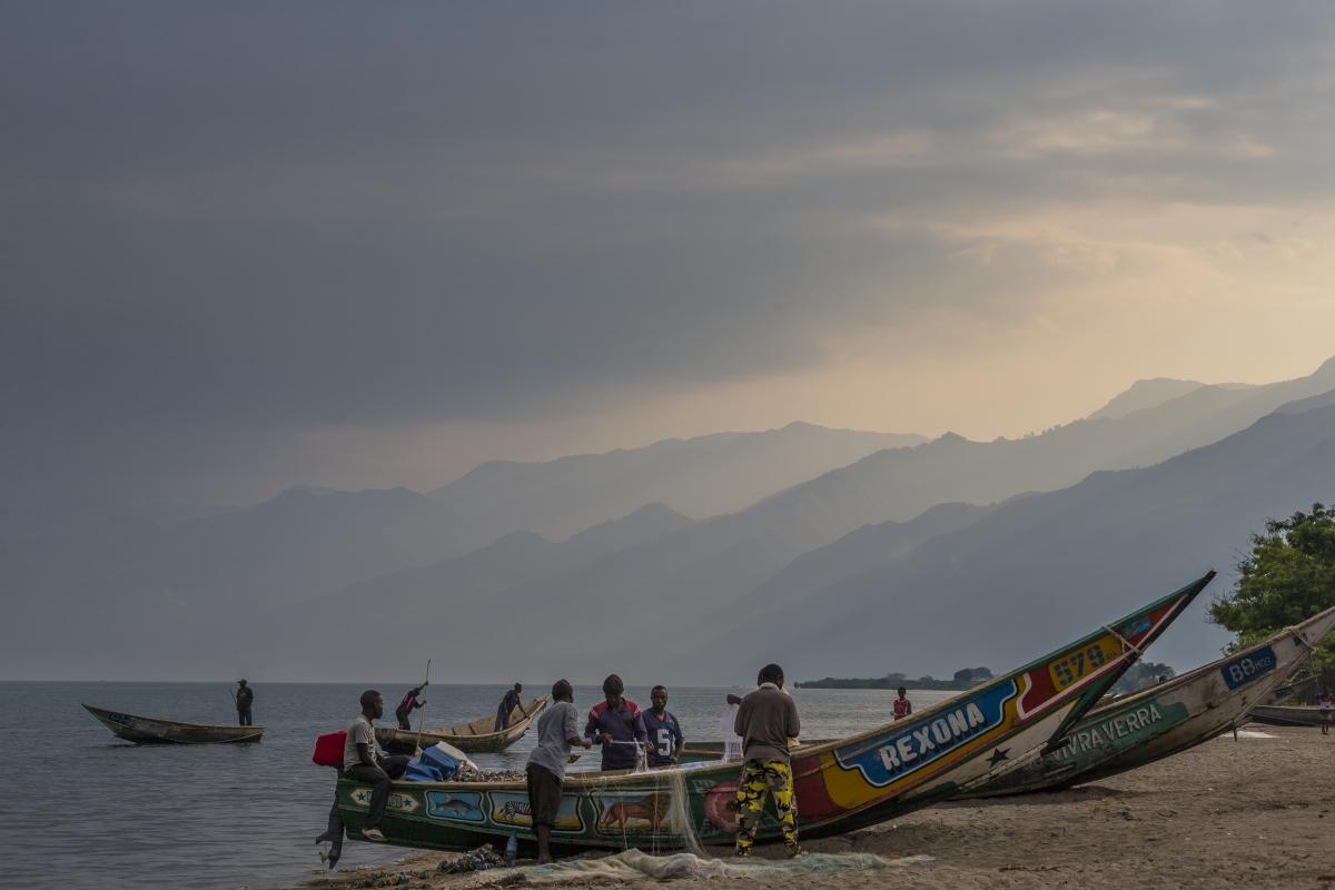 Virunga fishing