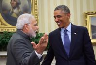 Narendra Modi and Barack Obama