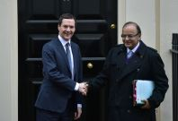 George Osborne and Arun Jaitley