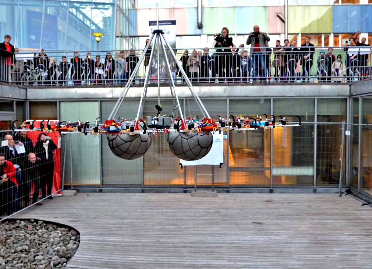 Megacopter drone sets new Guinness World Record