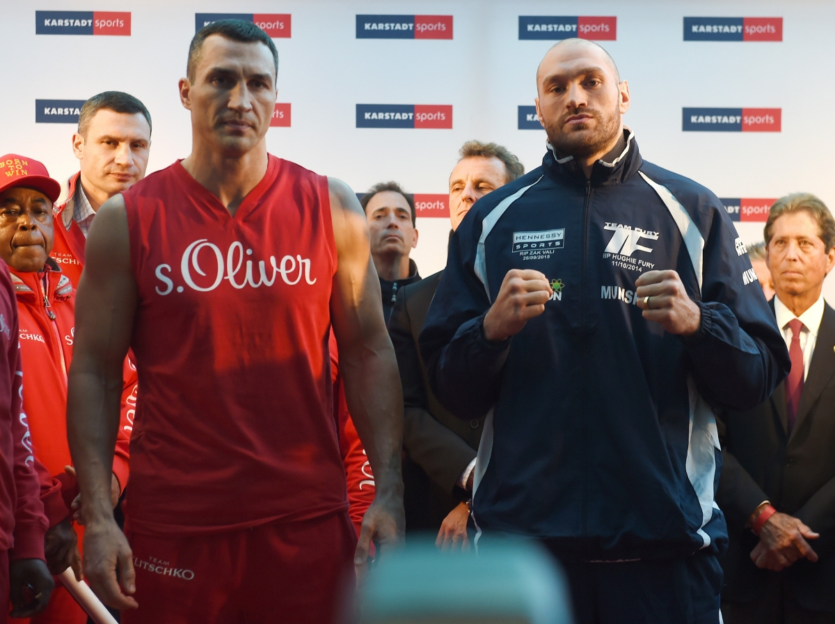 Wladimir Klitschko and Tyson Fury