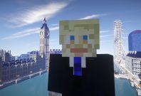 Minecraft Boris Johnson