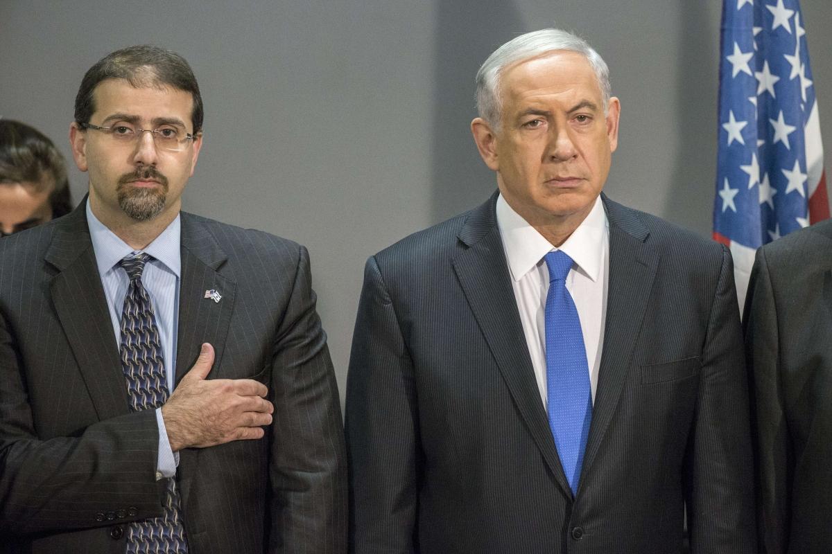 US Ambassador daniel shapiro benjamin netanyahu