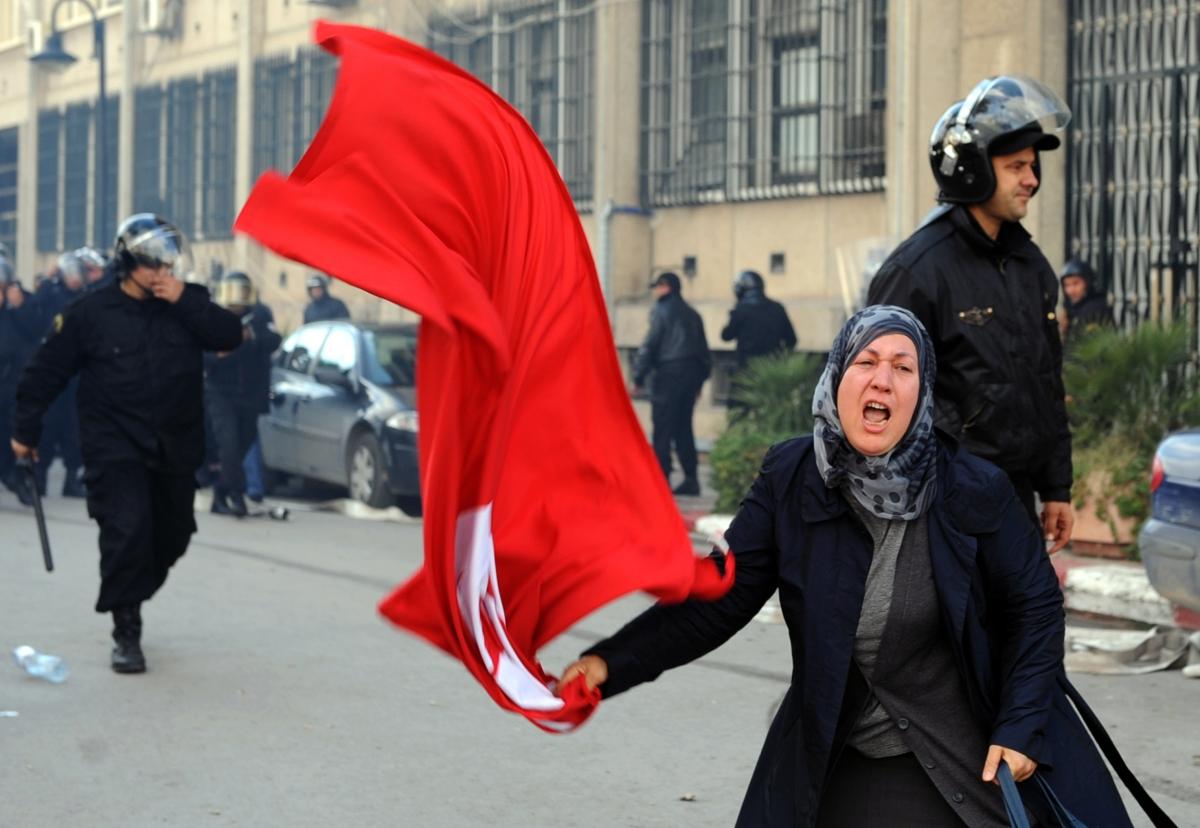 Tunisia Arab Spring 2011
