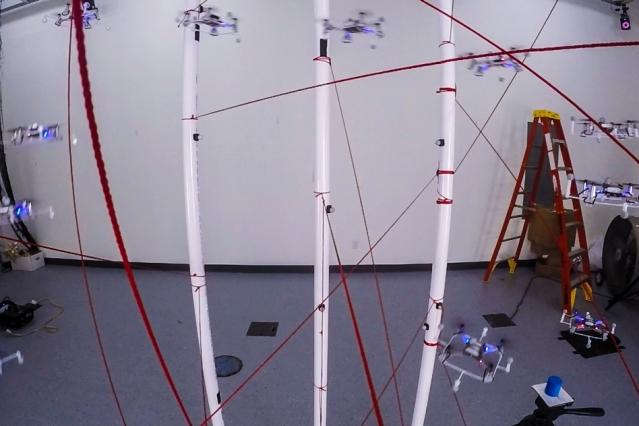 Quadcopter navigation