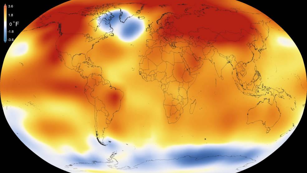 2015 hottest year