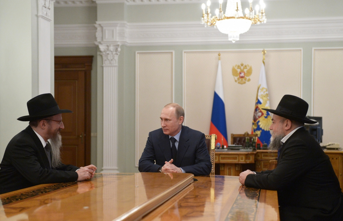 Putin meets Russian Jewish leaders