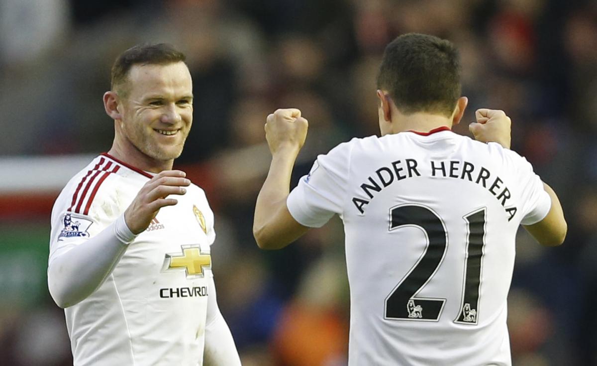Wayne Rooney & Ander Herrera