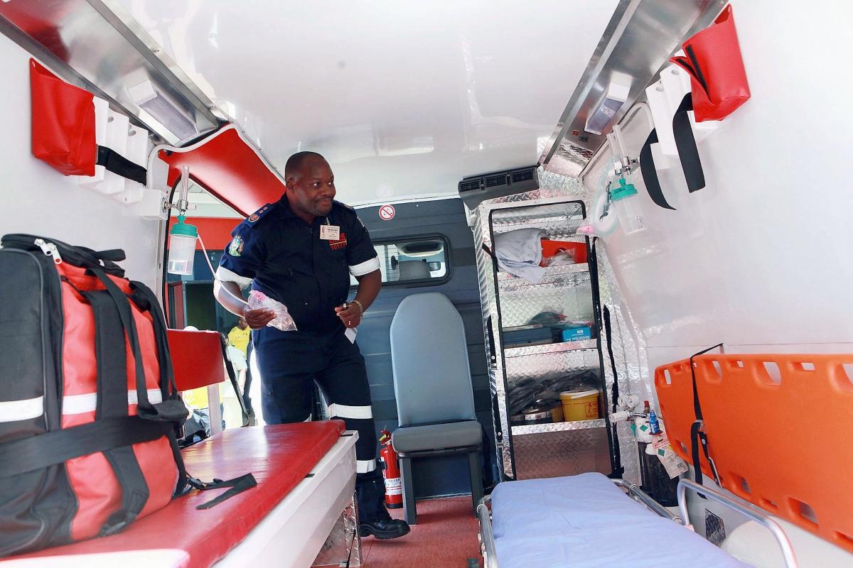 South Africa ambulance
