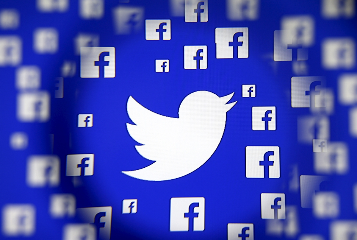 Twitter & Facebook logo