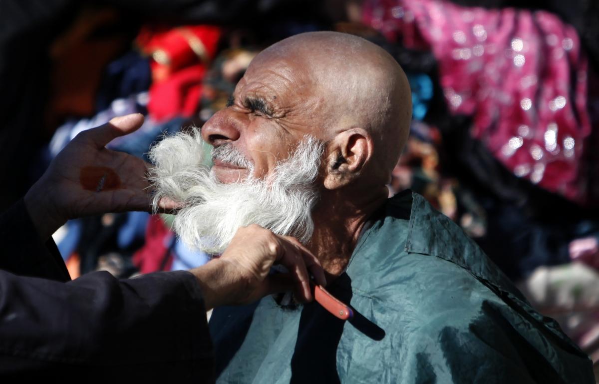 Tajikistan beard crackdown