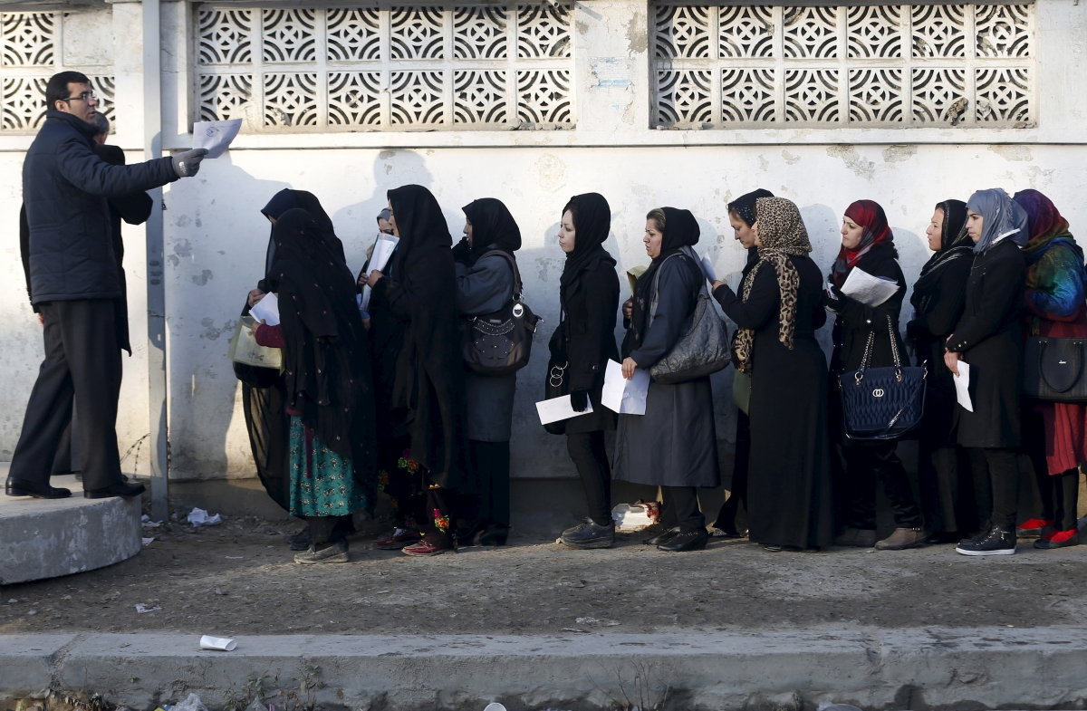 Afghanistan first women's university