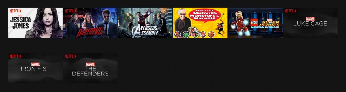 Netflix Marvel Originals