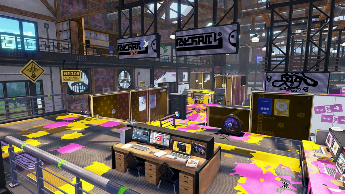Splatoon Ancho-V Map
